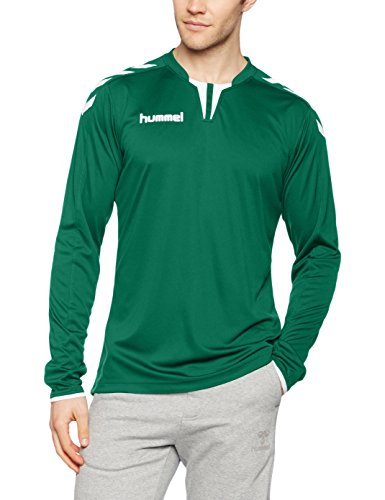 Hummel Herren Trikot Core Long Sleeve Poly Jersey, Evergreen, XL, 04-615-6140