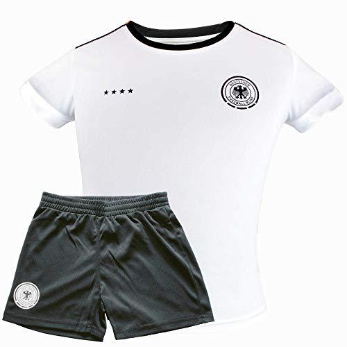 l Kinder-Trikot-Set Trikot & Hose Deutschland Nationalmannschaft Weltmeister (140) ()