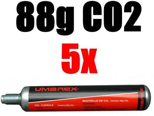 Preisvergleich Produktbild 5 Umarex Co2 Kapseln 88 Gramm für Gotcha / Softair / Paintball