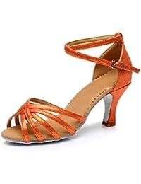 misu - Zapatillas de danza para mujer Negro negro, color Rosa, talla 37.5