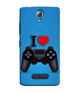 PrintVisa Designer Back Case Cover for Lenovo A2010 (Love Lovely Attitude Men Man Manly)