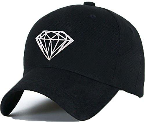 Gorra de béisbol, gorra Diamante, unisex, para hombre y mujer…