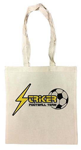 striker-football-team-bolsa-de-compras-de-algodon-reutilizable-cotton-shopping-bag-reusable