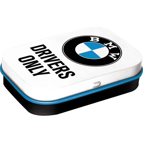 nostalgic-art-bmw-drivers-only-white-pillendose-1-stck