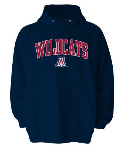 NCAA Kapuzensweatshirt Gildan, offizielles Lizenzprodukt, Herren, Navy, X-Large -