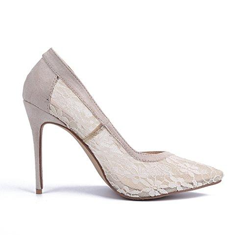 Minitoo , Sandales Compensées femme Beige - beige