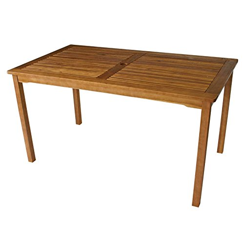 Gartentisch ST. VINCENT 140x80cm, Akazie geölt, FSC®-zertifiziert Tisch Garten