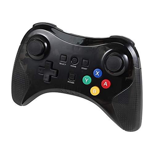 Controller für Wii U, Classic Wii U Pro Controller Wireless Bluetooth Gamepad mit USB Ladekabel ()