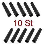 Kunststoffhülse 10 St. Set Distanzhülsen Kunststoff Farbe schwarz
