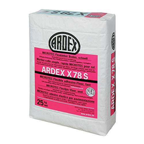 ARDEX X 78 S MICROTEC Flexkleber Boden, schnell 25 kg/ Sack