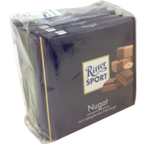 Ritter Sport Nugat - Schokolade 5x100g