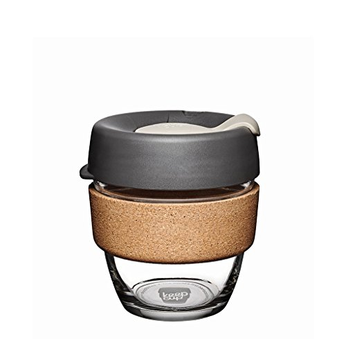 KeepCup Kaffeebecher, wiederverwendbar Sicherheitsglas Small (8oz) Press