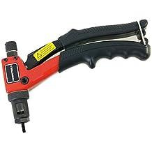 Merry Tools HK Remachadora de mano 20cm con sistema de fijado de tuercas M3-M6