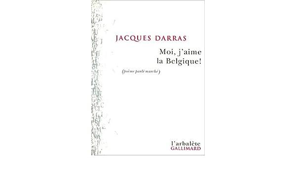 Amazonin Buy Moi Jaime La Belgique Poème Parle Marche