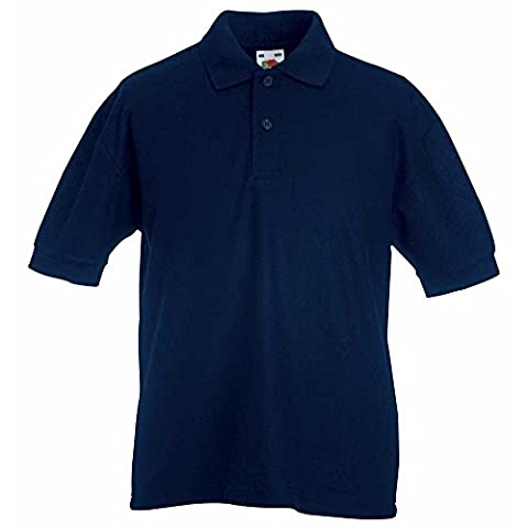 Fruit of the Loom Kid's 65/35 pique Polo Shirt