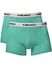 HEAD Herren Boxer Shorts Basic 2er Pack