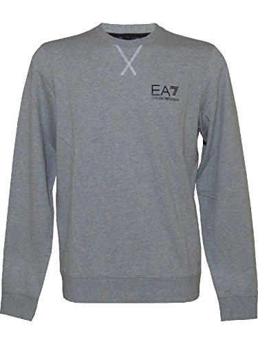 EA7 Emporio Armani 6XPM52 PJ05Z 3905 felpa grigio melange