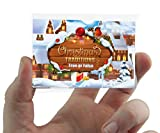 CHRISTMAS TRADITIONS POCKET QUIZ CARD GAME with True False answers