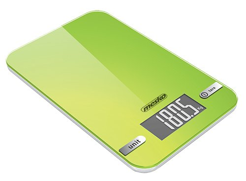 Adler Virtuvinės svarstyklės Mesko Kitchen scales MS 3151 Maximum weight (capacity) 5 kg, Graduation 1 g, Ekranas type LED, Green