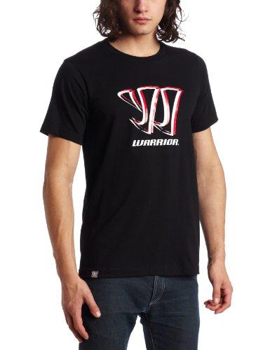 Warrior Shadow Logo Kurzarm Tee, unisex Herren, schwarz (Training Warrior T-shirt)