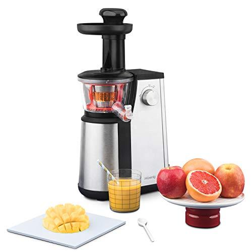 H.Koenig GSX 12 Licuadora para Frutas y Verduras de Prensado en Frío, Extractor de Jugos, 1 Litro...
