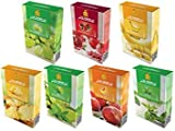 AL FAKHER Pack of 7 Flavor with AL Akbar Coconut Coal 30PCS