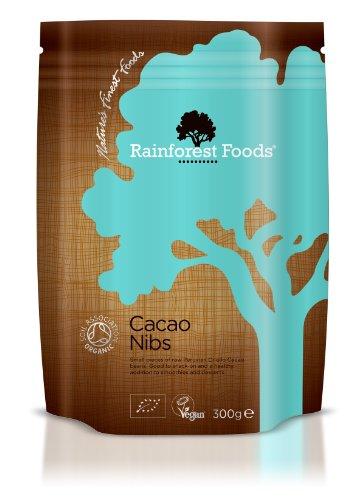 Rainforest Foods Kakaonibs, 1er Pack (1 x 300 g) - Bio