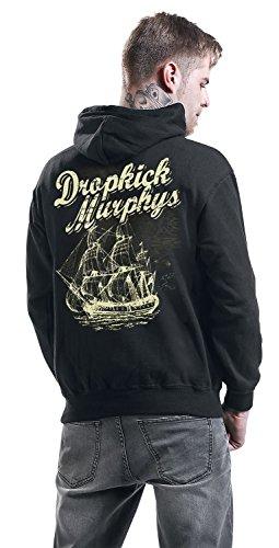 Dropkick Murphys Scully Skull Ship Kapuzenpulli schwarz Schwarz