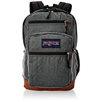 JanSport Unisex-Adult Cool Student Backpack, Black White Herring - JS0A2SDD