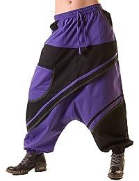 Unisex Psy Sarouel Baggy Pants Hippie Hose Goa Baumwoll Tanzhose