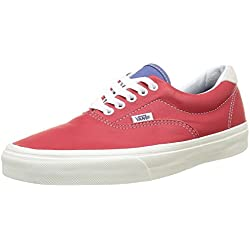 Vans Era 59 - Zapatillas unisex adulto, color rojo (vintage sport)