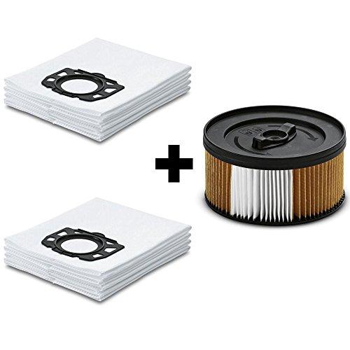 8 Original Staubsaugerbeutel + 1 Filter für Kärcher WD 4.250 von Staubbeutel-Profi®