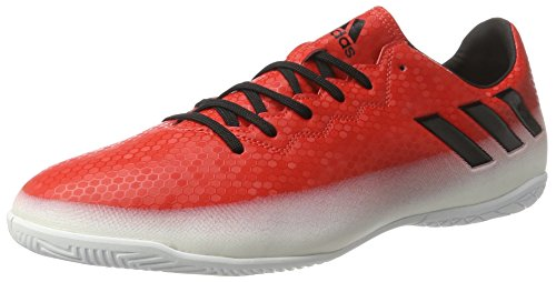 adidas Messi 16.4 In, Chaussures de Football Homme Rouge (Red/core Black/ftwr White)