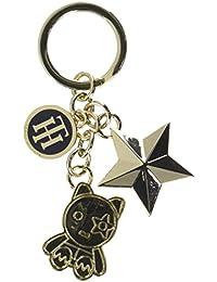 Tommy Hilfiger Mascot & Star Charm Keyfob, Llavero para Mujer, Varios Colores (Multi), 5x4x10.7 cm (W x H x L)
