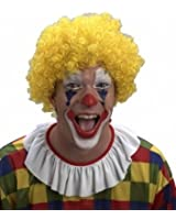 Yellow Clown Curly Wig