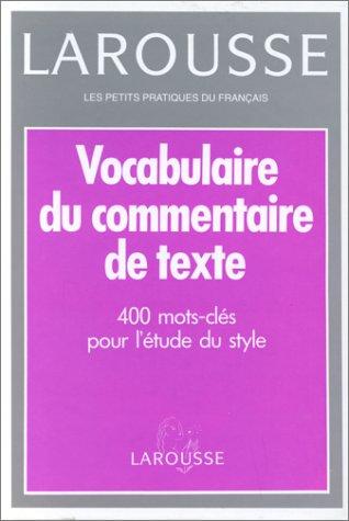 """<a href=""""/node/15688"""">Vocabulaire du commentaire de texte</a>"""