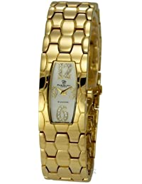 Christina Design London Damen-Armbanduhr Analog Gelbgold 128GW