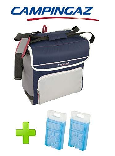 ALTIGASI Kühltasche FOLD\'N Cool CAMPINGAZ 30 Liter CAMPINGAZ mit verstellbarem Schultergurt und Fronttasche - Leistung bis zu 12 Stunden + 2 FREEZ Pack M10