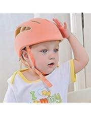 MIMISKU Baby Safety Helmet with Corner Guard & Proper Ventilation (Sunshine Orange)