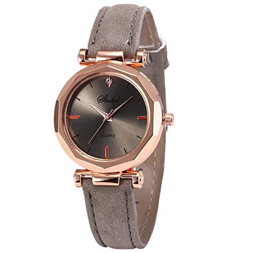 koperras Women Wrist Watch,Fashion Women Leather Casual Watch Luxury Analog Quartz Crystal Wristwatch