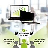 Fellowes 4812001 Filtre de Confidentialité PrivaScreen pour Ordinateur Portable 14,0' Panoramique