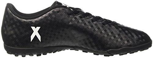 adidas X 16.4 Tf, Chaussures de Football Homme Noir (Core Black/Ftwr White/Core Black)