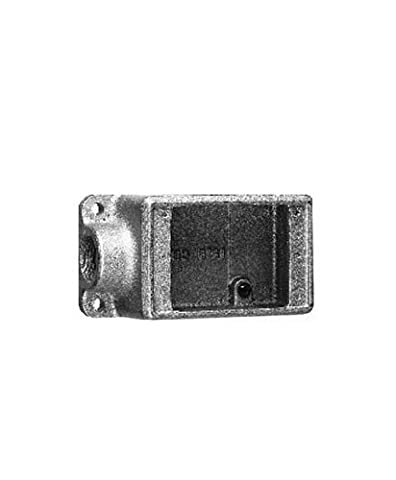 Crouse-Hinds FS2 SCA Condulet Sand Cast Aluminum Box with Mounting Lugs And Ground Screws, 3/4-Inch