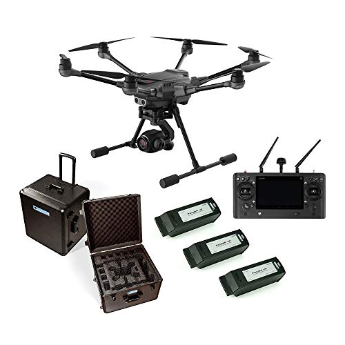 Yuneec Typhoon H Plus Travel-Set Koffer 3X Akku ST16S mit C23 Kamera 20MP