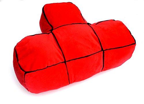 ❖ 5er Set Tetris 3D Plüsch Kissen – Der Computerspiel-Klassiker zum kuscheln als Sofakissen❖ - 2