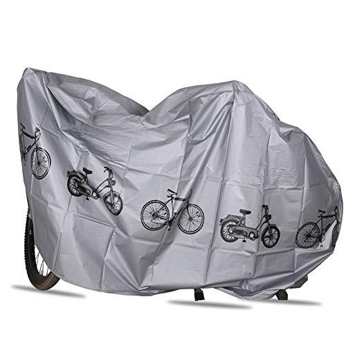 JoyFan Wasserdichte Bike Cover Schutz UV Regen Schnee Staub Mountain Road Elektro Fahrrad Hybrid Outdoor Storage (Elektro Mountain-bike)