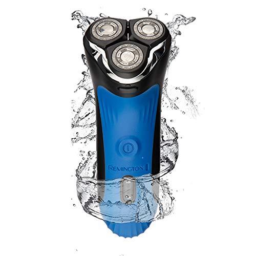 Remington AQ7Wet Tech Wet und Dry Rotary Rasierern-Schwarz/Blau (mit UK Netzteil)