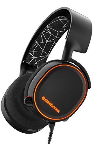 SteelSeries Arctis 5 - Auriculares para juego, sonido envolviente, DTS 7.1 Surround,...