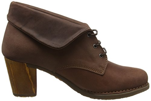 Salzburg Stiefel Lace olio Brown Brown Damen Heeled Art gOwCFqw