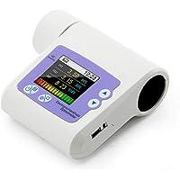 SISHUINIANHUA Espirómetro SP10 CONTEC Digital de pulmón de Dispositivo de Volumen FVC FEV1 PEF FEF25 USB Software Inicio Hospital Bien Segura Llena a Puerta